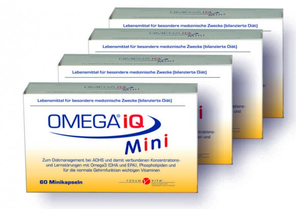 OMEGA iQ Mini 4er Angebot