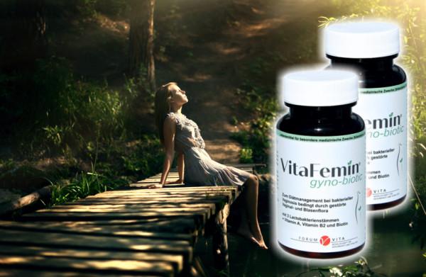 VitaFemin gyno-biotic- 2er Kennenlernangebot