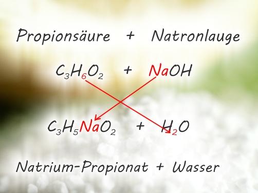 Formel Propionat