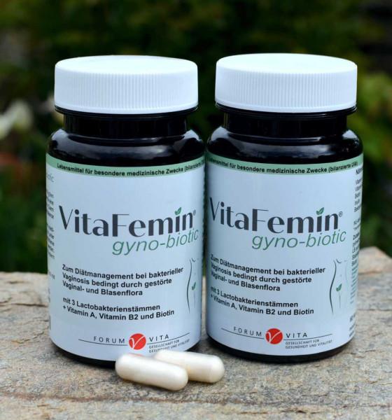 VitaFemin gyno-biotic- 2 er Kennenlernangebot