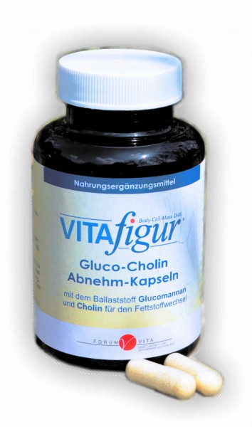 Vitafigur Gluco-Cholin Abnehm-Kapseln