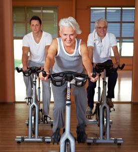 Bewegung hält Gelenke fit