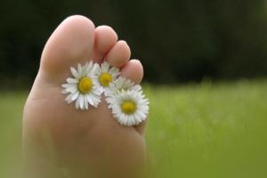 Füße zum Woglfühlen