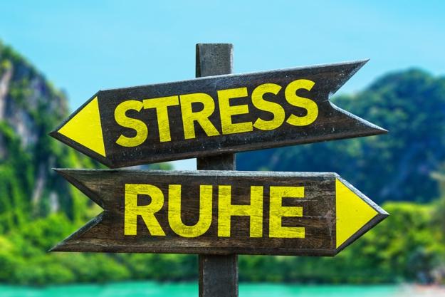 Stress Ruhe