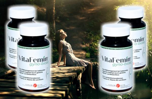 VitaFemin gyno-biotic- 4er Vorteilsangebot