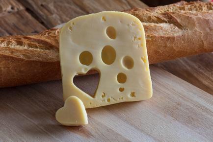 nicht nur in Brot und Käse
